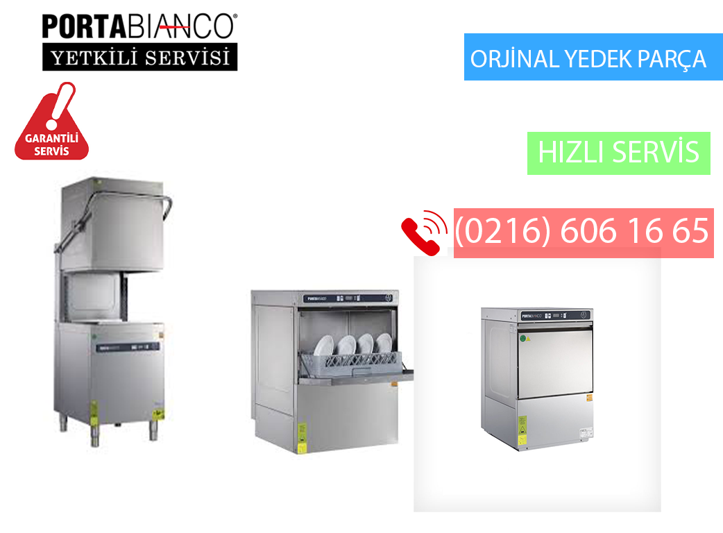 Adalar Portabianco Bulaşık Makinesi Servis